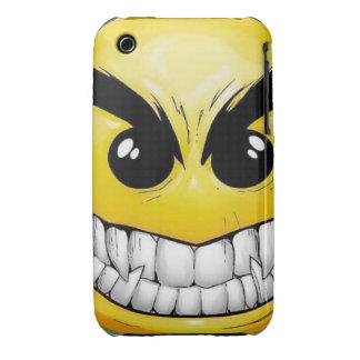 Cara feliz enojada Case-Mate iPhone 3 cobertura