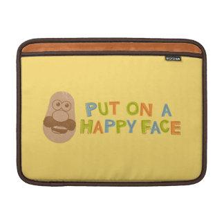 Cara feliz fundas para macbook air