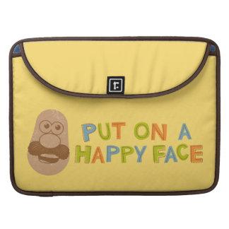 Cara feliz fundas para macbook pro