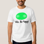 Cara feliz, sonrisa. ¡Sea feliz! Poleras