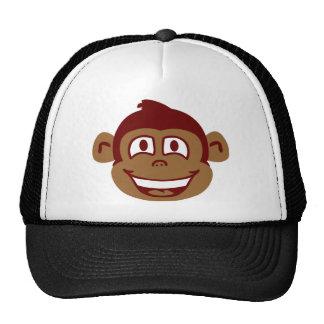 Cara fresca del mono gorra