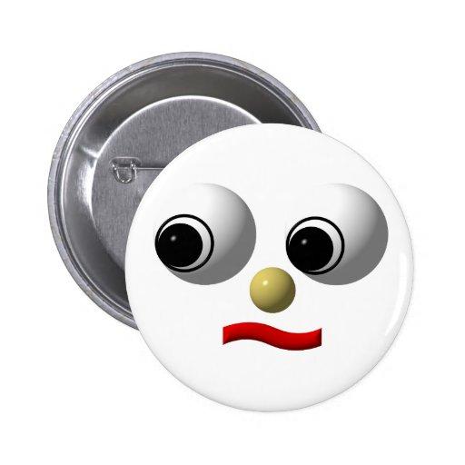 cara Googly-observada #2 Pins