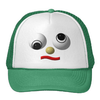 cara Googly-observada #4 Gorro De Camionero