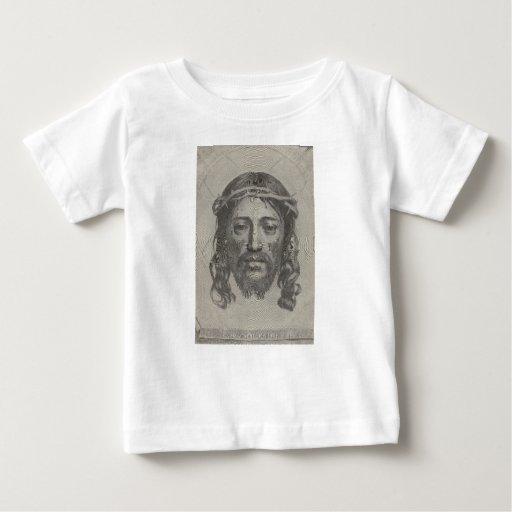 Cara grabada del Jesucristo de Claude Mellan Tshirt