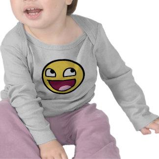 cara impresionante del smiley de /b/ camiseta