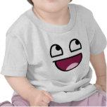 Cara impresionante del smiley de Lulz Camiseta