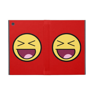 Cara impresionante feliz iPad mini fundas