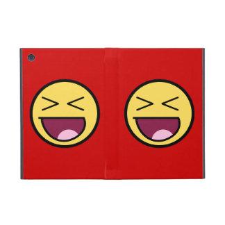 Cara impresionante feliz iPad mini cobertura