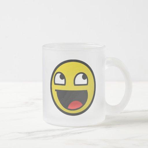 ¡Cara impresionante! Tazas De Café