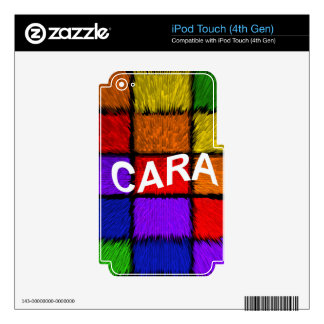 CARA iPod TOUCH 4G SKIN