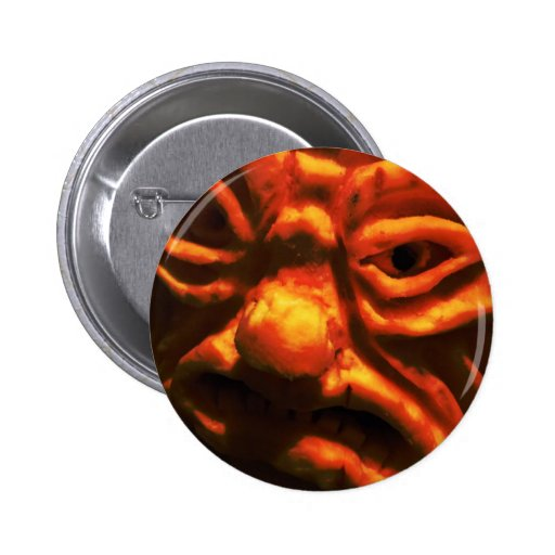 Cara IX del miedo Pin Redondo 5 Cm
