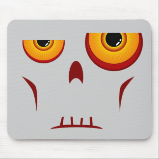 Cara larga Mousepad del zombi