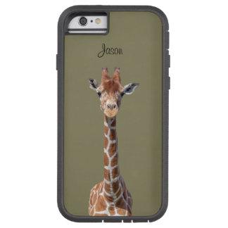 Cara linda de la jirafa funda tough xtreme iPhone 6