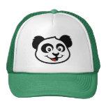 Cara linda de la panda gorro