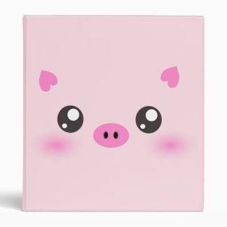 """Cara linda del cerdo - minimalism del kawaii carpeta 1"""""""