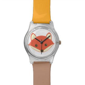 Cara linda del Fox Reloj