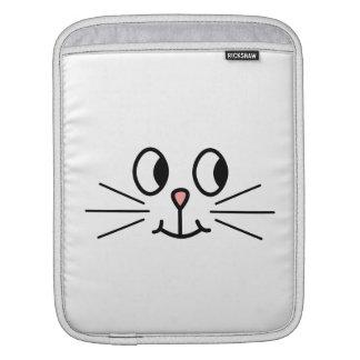 Cara linda del gato funda para iPads