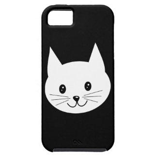 Cara linda del gato funda para iPhone SE/5/5s