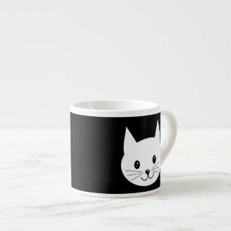 Cara linda del gato tazita espresso