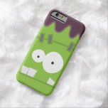 Cara linda del monstruo de Halloween Frankenstein Funda De iPhone 6 Barely There