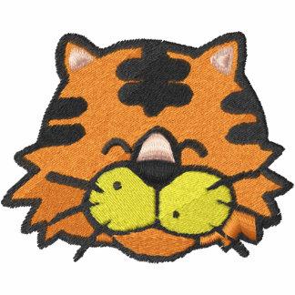 Cara linda del tigre de bebé