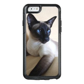 Cara magnífica del gato siamés funda otterbox para iPhone 6/6s