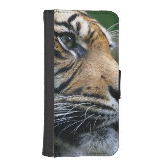 Cara magnífica del tigre de Bengala Funda Cartera Para Teléfono