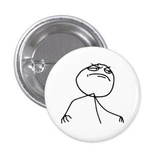 Cara Meme de la rabia del Yea de F Pin