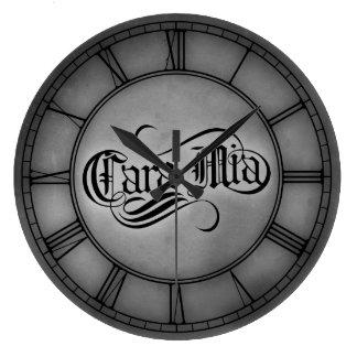 Cara Mia Round Wall Clocks