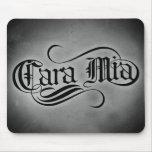 Cara Mia (mis queridos) Alfombrillas De Ratón
