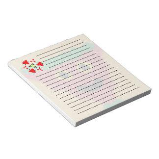 cara moderna abstracta blocs de papel
