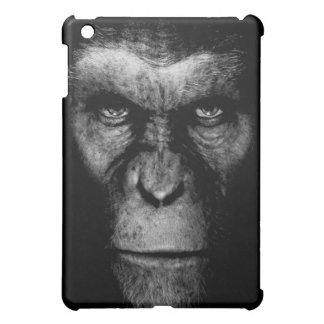 Cara monocromática del mono