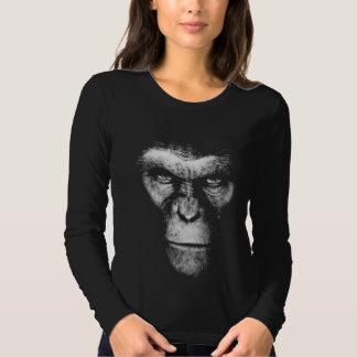 Cara monocromática del mono playera