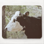 Cara Mousepad de la vaca Alfombrillas De Ratón