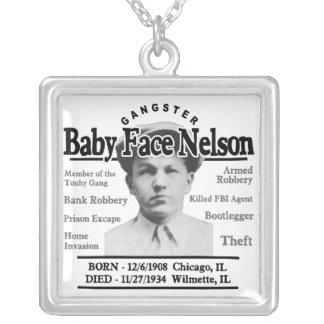 Cara Nelson del bebé del gángster Colgantes Personalizados
