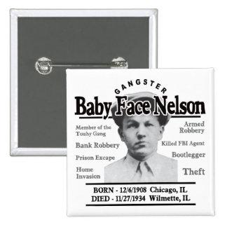 Cara Nelson del bebé del gángster Pin