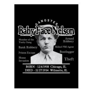 Cara Nelson del bebé del gángster Postal