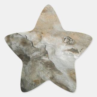 Cara New México Carslbad de la roca Calcomanía Forma De Estrella