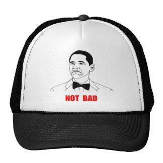 Cara no mala Meme de la rabia de Barack Obama Gorras De Camionero