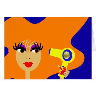 Cara Notecard del arte pop Felicitaciones