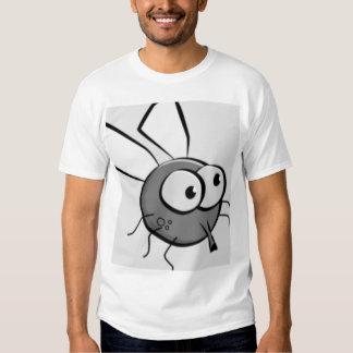 Cara observada insecto de la mosca remeras