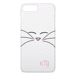 Cara personalizada del gatito funda iPhone 7 plus
