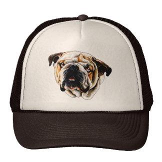 Cara pintada del dogo gorras de camionero