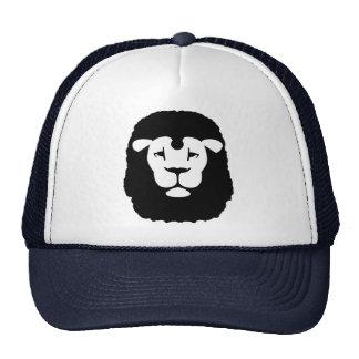 Cara principal del león gorros