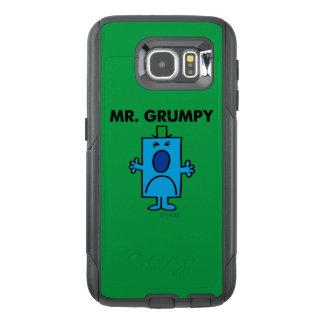 Cara que frunce el ceño de Sr. Grumpy el   Funda OtterBox Para Samsung Galaxy S6