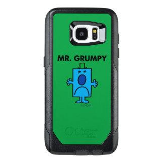 Cara que frunce el ceño de Sr. Grumpy el   Funda OtterBox Para Samsung Galaxy S7 Edge