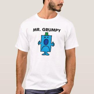 Cara que frunce el ceño de Sr. Grumpy el | Playera
