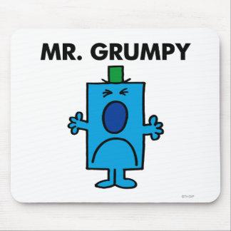 Cara que frunce el ceño de Sr. Grumpy el | Tapetes De Ratón