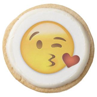 Cara que lanza un beso Emoji