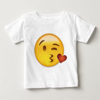 Cara que lanza un beso Emoji Camisas